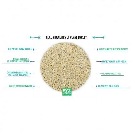 FYZ Herbs Pearl Barley Barli 500g [Value Pack] 珍珠薏米/洋薏米袋装 500g