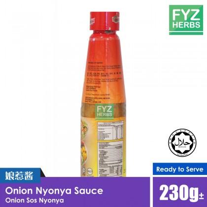 Onion Nyonya Sauce Sos Nyonya 230g 娘惹酱