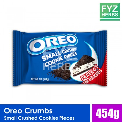 Oreo Crumbs Small Crushed Cookies Piece for Baking - 454g