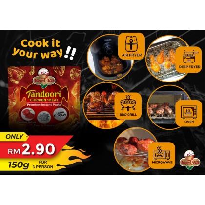 Kari Kit Tandoori Chicken/Meat Premium Instant Paste 150g